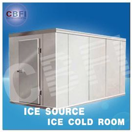 चीन Concrete Design Moisture Proof Light Cold Room Blast Chiller Freezer With Cement Floor फैक्टरी