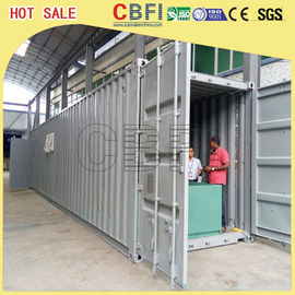चीन 5 Ton Per Day Containerized Block Ice Machine, Ice Block Making Business  फैक्टरी