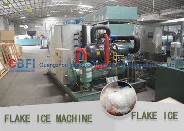 चीन Heavy Duty Flake Ice Machine For Fishery 500kg to 30 ton / 24hrs फैक्टरी
