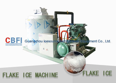 चीन Touch Screen Flake Ice Maker with German Bitzer Compressor / Water Cooling Condenser फैक्टरी