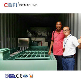 चीन Commercial Containerized Block Ice Machine Big Containerized Block Ice Plant फैक्टरी