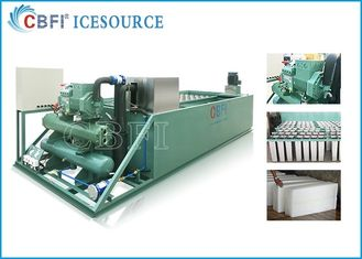 Evaporative / Air / Water Cooled Ice Machine , Automatic Ice Machine Large Production