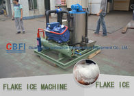 20 Tons Flake Ice Machine Stainless Steel Evaporator For Concrete Processing आपूर्तिकर्ता
