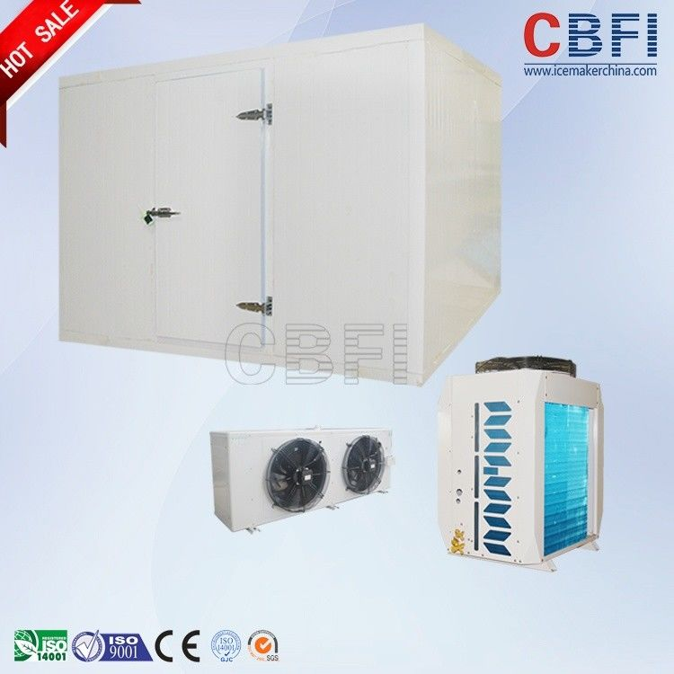 Sliding Door / Swing Door Commercial Walk In Freezer , Laboratory Cold Room Strong Anti - Deformation आपूर्तिकर्ता