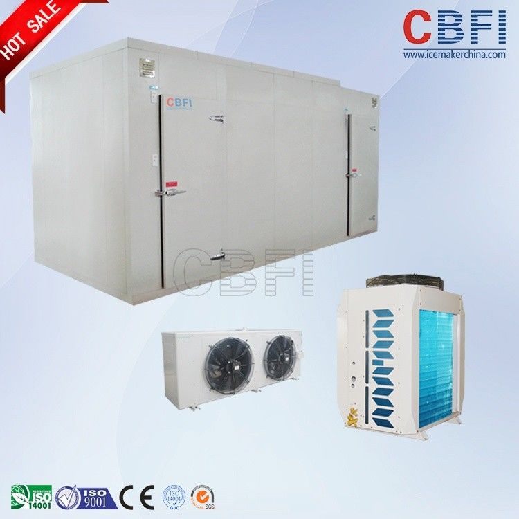 Fast Food Shops / Supermarket Cold Room , Walk In Cold Storage With Automatic Temperature Control System आपूर्तिकर्ता