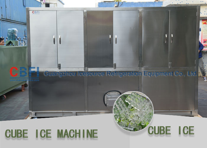 Different size Ice Cube Making Machine with Ice bin design and Germany Bitzer compressor आपूर्तिकर्ता