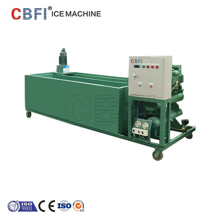 1000Kg - 100000Kg Capacity Ice Block Machine With PLC Controller आपूर्तिकर्ता