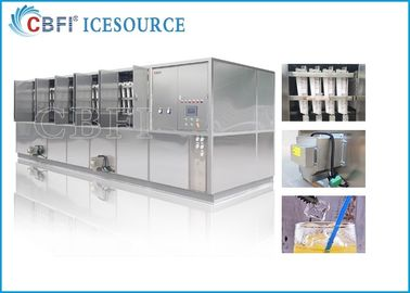 चीन CBFI 20 Tons Large Ice Cube Machine Commercial With Semi Automatic Packing System वितरक